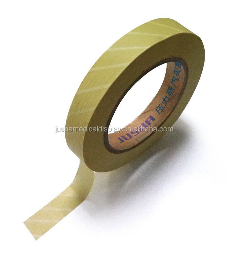 Disinfection CE approved Medical Autoiclave Indicator tape