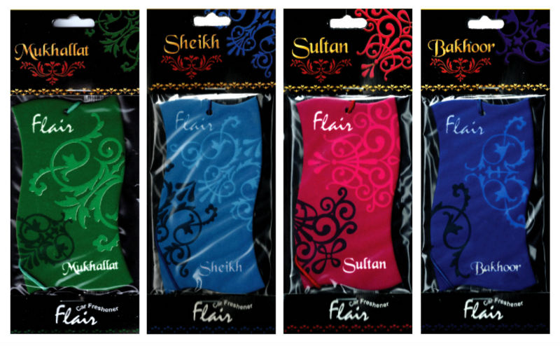 Flair Car Fresheners - Arabic Oriental Fragrances