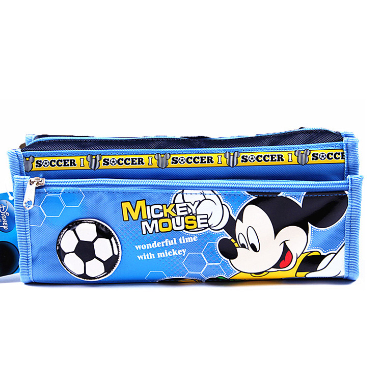 Students Cartoon Pen Bag Large Capacity Pencil Case Packing Bag for Boy