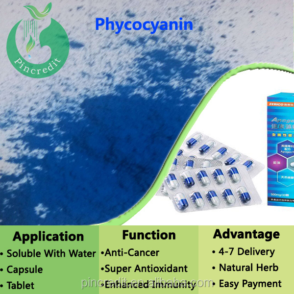 Natural Pigment and Protein Phycocyanin
