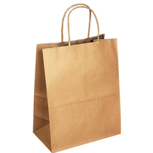 brown kraft wholesale small shopping paper bag grocery