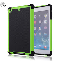 Triple layers defender cover for iPad mini 2 , 3 in 1 Football Case For iPad mini 2