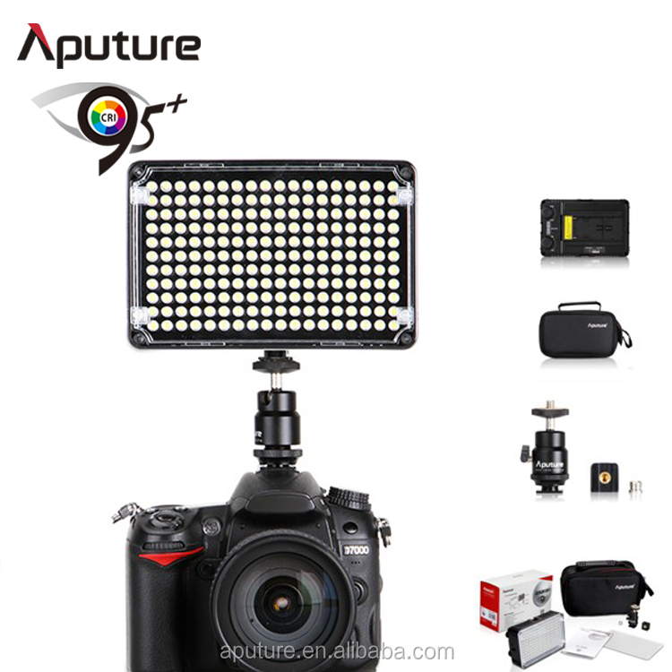 Aputure H198 High CRI 95 Wide Beam Angle Video Shooting Light for DSLR