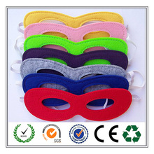 7 Colors Available!!! Fashion Superhero Felt Party Mask with Elastic Band