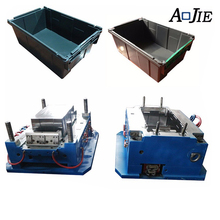 Precise Processing Bottle Crate Plastic Injection Mould Maker