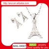 2014 new arrival statement round diamond charm pendant necklace