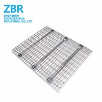 Mesh Galvanized Wire Decking Mesh Pallet Decking For Warehouse Racking