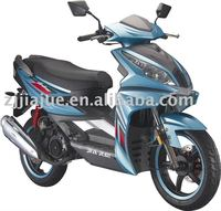 Jiajue 14 inch wheel Patent Design sporty whole LED high quality EEC Gas scooter.