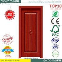 White primed wooden composite interior door designs solid wood door
