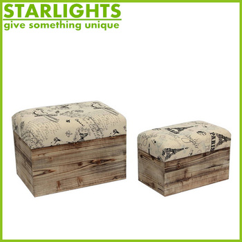 New Arrival Latest Design Classic style fancy stool ottoman
