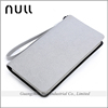 Classic Free Style Real Gray Leather Wallet Men With Belt