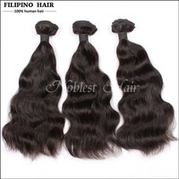 New Products Hight Quality 10 a factory wholesale price natural wave top quality virgin 1#,2#1b# Filipino hair extension