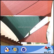 HDPE 3m triangle/5m square sun shade sail for UV protection or waterproof
