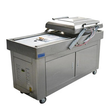 double chamber vacuum packing machine for sea food/salted meat/dry fish/pork/beef/rice
