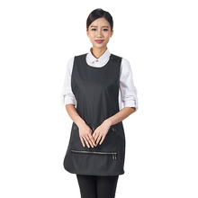 China factory water proof apron for cooking pu leather aprons
