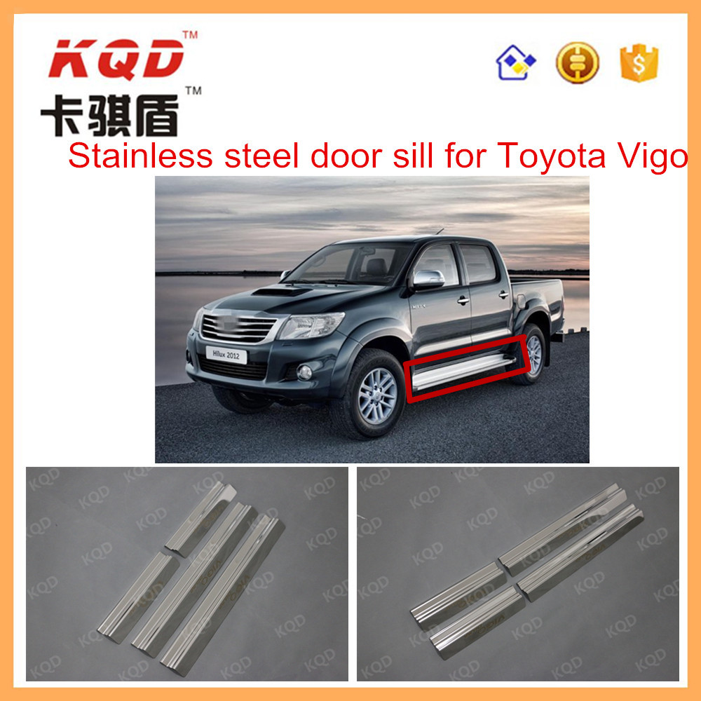 Exterior Accessories 2012 Vigo Champ Stainless Steel door Sill