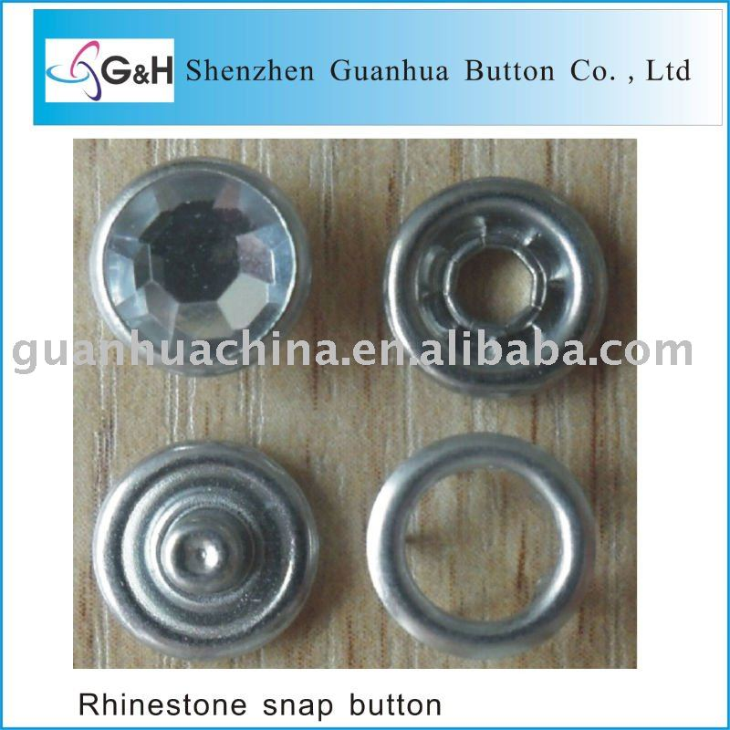 diamond snap button