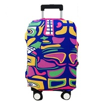 new design customized clear spandex luggage cover
