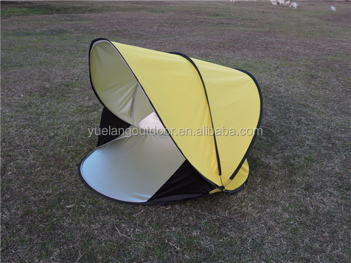 2017 High Quality Silver Coating Shade Beach Tents 1-2 Person Couples Summer Outdoor Travel Luxury Camping Tents