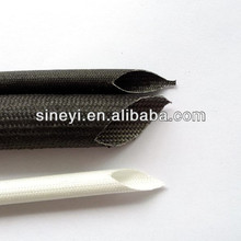 Silicone Rubber Glassfiber insulating Sleeving(inside rubber and outside fiber)