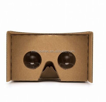 diameter 37mm lenses Google cardboard V2 virtual reality Glasses 2.0 Viewer 3d glasses for 6inch smartphone with ios and android
