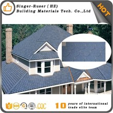 Factory Lowes Price /Hexagonal/Round Red Asphalt Roof Shingles Roof Tiles Malaysia fish-scale type asphalt shingle