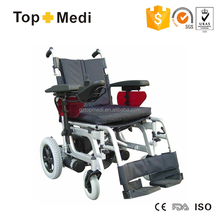 Topmedi TEW036 High Quality Modern Fashionable Electric Folding Power Wheelchair handicapped equipment