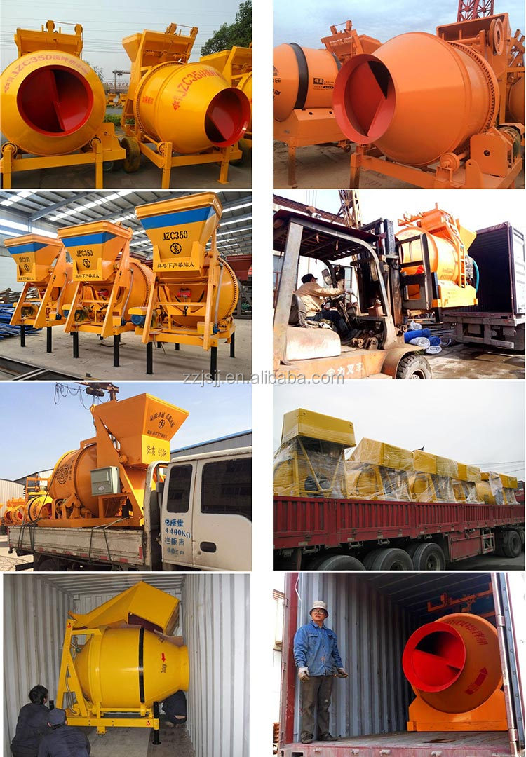 1 bagger electric concrete mixer 15m3/h mixing capacity for sale Philippines