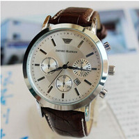 New Men's Fashion Quartz Wrist Watches Men Luxury Brand Leather Strap Wristwatch Casual Watch Relogio Male Reloj Clock Men