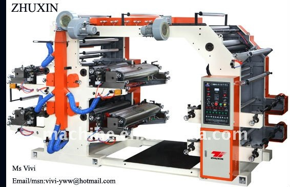 YT 4800 Flexible Four Color paper printing machine