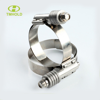 15.8mm bandwidth high torque clamp with washers and liner