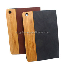 2017 new for ipad air wood leather tablet case cover