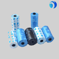 high quality small colored dog poop bags in rolls wholesales