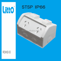 Waterproof Double Gang Power Point IP66