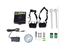 electronic pet fence system w-227 dog shock collar for two dogs