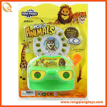 Hot selling small animals plastic 3d view master toys OT26917001