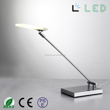 flexible angle adjusting cob touch sensor arylic modern dimmable LED office desk Lamp