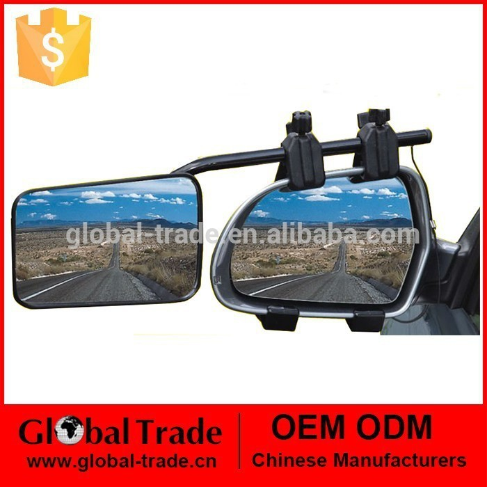 Deluxe Dual Glass Extension Wide Side Caravan Towing Mirror A1905