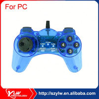 Clear color no vibration USB joypad