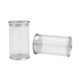 Existing products Plastic blister cylinder packaging PVC clear tube gift boxes round tube packaging for Cosmetic puff