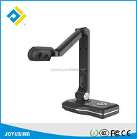 360 degree rotation digital document scanner with camera visual presenter