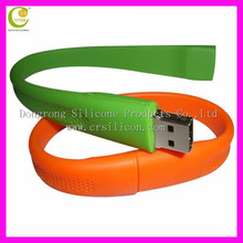 new style customized silicone USB bracelet disk cover,waterproof usb cover ,usb flash disk cover for promotion