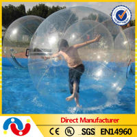 2014 Best Quality Inflatable human hamster ball, walking water drop ball, Summer Funny