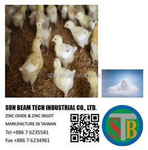 high purity 99.8% zinc oxide for feed