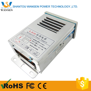 12V AC Input DC Constant Voltage 12V Power Supply Waterproof 45W / 50w waterproof led driver