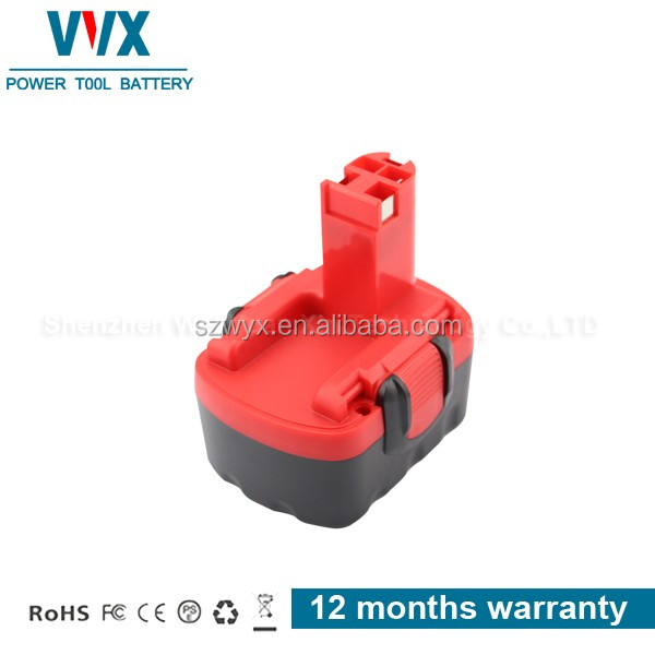 High quality 14.4V 1500mAh Ni-CD Power Tool Battery Rechargeable for Bosch Replacement PSR 14.4-2