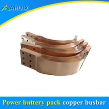 Insulated flexible copper busbar for Power battery pack
