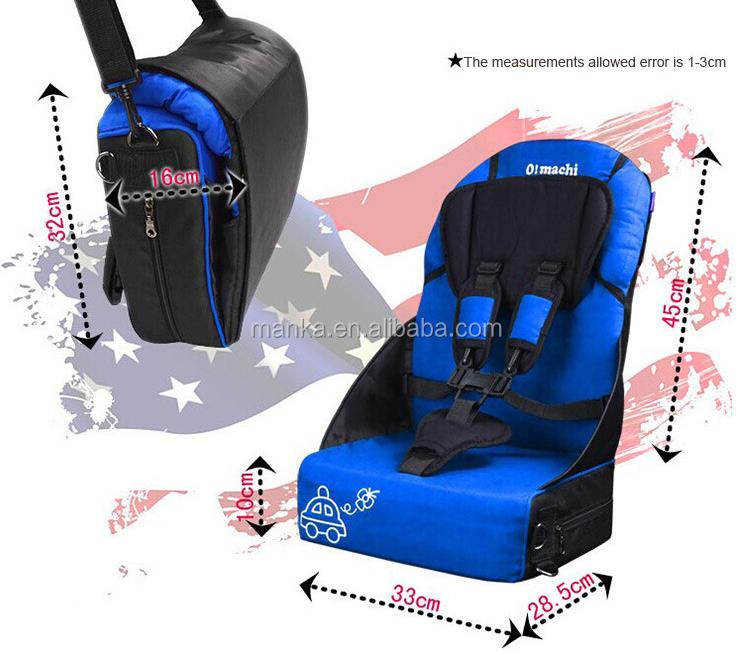 Beb coche de seguridad del asiento silla de comedor env o for Silla de seguridad coche