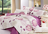 Soft print not fade twill 100% cotton bedding set