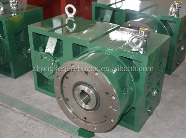 Manufacurer of zlyj225 series gearbox/ <strong>1</strong>:10 ratio gearbox for blown film machine